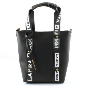 MUST HAVE BLACK SHOPPER SPORTOWE SMYCZE LAURA BIAGGI