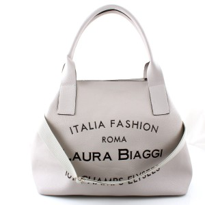 LAURA BIAGGI MUST HAVE SZARA BIG SHOPPER BAG