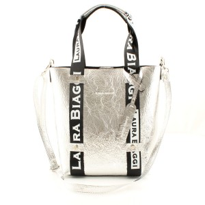 MUST HAVE SILVER SHOPPER SPORTOWE SMYCZE LAURA BIAGGI