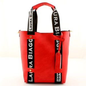 MUST HAVE RED SHOPPER SPORTOWE SMYCZE LAURA BIAGGI