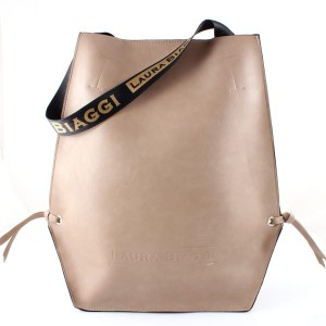 LAURA BIAGGI BIG SHOPPER XL KHAKI MEGA TOREBKA