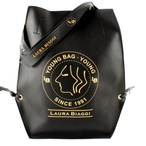 LAURA BIAGGI BIG SHOPPER XL YOUNG BAG CZARNA TOREBKA